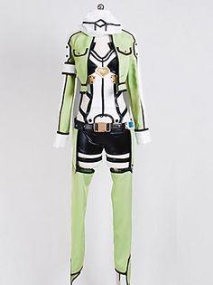 Sword Art OnlineⅡGun Gale Online Sniper Sinon Asada Shino Cosplay Costume
