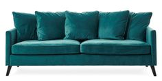 Living room | Sofa from Mio: Mirage. LOVE the colour and the fabric.