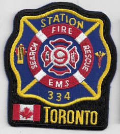 Station 334 South Command dist. 33 - P334 Fire Boat 334 ( P5334 ) 339 Queens Quay W.