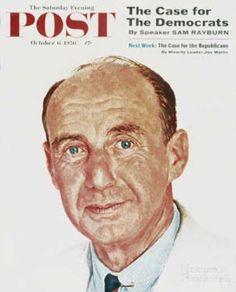 Saturday Evening Post - 1956-10-06: Adlai E. Stevenson (Norman Rockwell)