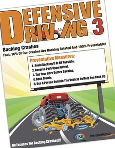 Defensive Driving Poster