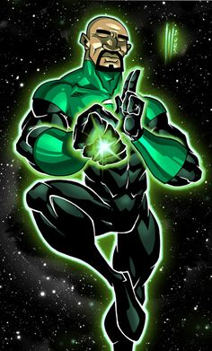Green Lantern by Santolouco.deviantart.com on @DeviantArt