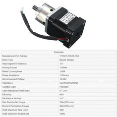 Extruder Gear Stepper Motor Ratio 5:1 Planetary Gearbox Nema 17 Step Motor-buy at low-price point on Joom e-commerce platform