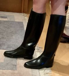Leather Riding Boots, Tall Boots, Shoes Sandals, Sexy, Fashion, Heels, Boots, Leather, Places