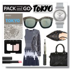 """""""Pack & Go Tokyo"""" by crystalcult ❤ liked on Polyvore featuring Palomar, NARS Cosmetics, Antonino Valenti, Steffen Schraut, Lacoste, Le Métier de Beauté, Derek Lam, Topshop, Casetify and tokyo"""