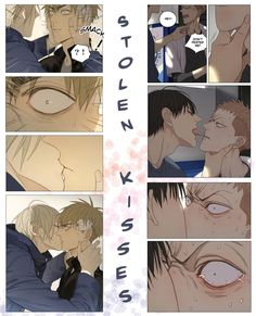 Sweet Zhan Zheng Xi and Jian Yi kiss / Hard He Tian and Mo Guan Shan kiss ‍❤️‍‍
