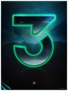 Tron Legacy countdown by James White, via Behance