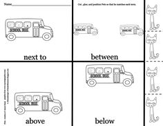 41 Best K.G.A.1 Common Core (Positional Words) images