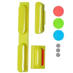 APPLE PARTS /  IPHONE PARTS /  IPHONE 5C /  FULL SET OF SWITCH/MUTE/VOLUME BUTTON FOR IPHONE 5C ORIGINAL $2.99 Price