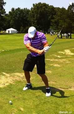 Tim Tebow golfing, of course. alright it's official. I LOVE TIM TEBOW!