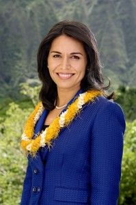 This isn't a saying or quote, but she's a very inspiring woman! ~Tulsi Gabbard (born April 12, 1981) is the United States Representative for Hawaii's 2nd congressional district since 2013. She is also a Vice-Chair of the Democratic National Committee. She is the first American Samoan, the first Hindu member, and, (along with Tammy Duckworth) is one of the first female combat veterans (Iraq) in the United States Congress.