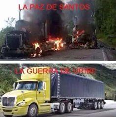 @pacheco2018 es la FARCsa PAS D FARCSantos! Muerte y miseria para el pueblo , donde están los PACIFISTAS  aguevados?? pic.twitter.com/DXwB4RFG6d