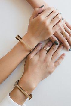 Modern Jewelry // HONEY & SILK: Identity