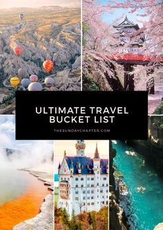 If you like to travel, you probably have a bucket list of places you want...