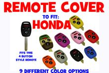 Remote jacket to add some style to your remote. Works on these remote key: Honda Accord 2006 thru 2012 Honda Civic 2006 thru 2013 Honda CRV 2005 thru 2006 Honda Pilot 2009 thru 2013 WILL ALSO WORK ON THE FOLLOWING PART # AND FCC#:   N5F S0084A  MLBHLIK-1T  KR55WK49308  N5F-A05TA OUCG8D-380H-A
