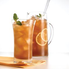 green tea pom lemonade