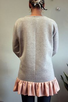 Greek Fashion, Satin Fabric, Flirting, Fashion Brands, Drop, My Style, Shoulder, Sweatshirts, Sweaters