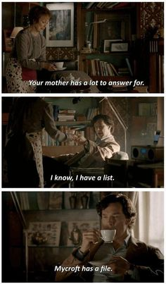 Sherlock. This does explain a lot about these two!
