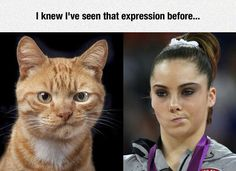 Mckayla Maroney's discomfort at a silver medal (tbh she really deserved gold)