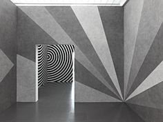 Sol LeWitt, Wall drawing #542 and #462