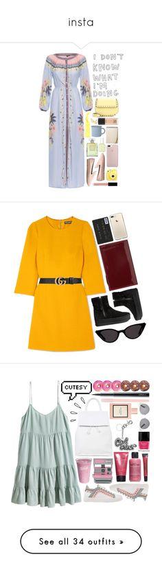 """""""insta"""" by grapefashion on Polyvore featuring moda, FARM, Witchery, Chanel, Valentino, Fujifilm, ban.do, MAC Cosmetics, canvas e Essie"""