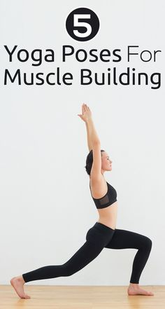 Here are 5 effective yoga techniques that will help you build lean muscles and get a ripped body.