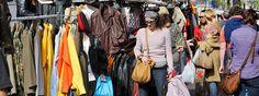 Waterloopleinmarkt Flea market Waterlooplein