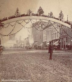General Grant Visits Leadville 1880