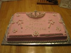 princess baby shower cake By erica72 on CakeCentral.com