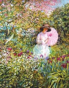 I love all of these paintings by Frederick Frieseke