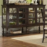 Found it at Wayfair - Loren Buffet Curio Oh my... I love this