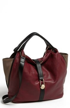 gorgeous fall bag in oxblood - totally hot color