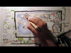 Desenho rápido - Fast Sketch - Landscape Design