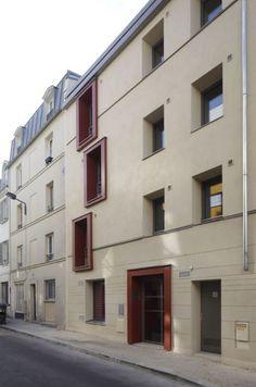 2012 A.D. 4 storey Hempcrete building Paris, France #Hempcrete #thcint #Paris