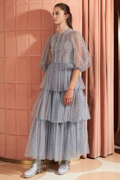 See the entire Red Valentino resort 2020 collection. Image credits: Courtesy of Red Valentino Fashion 2020, Fashion Week, Runway Fashion, High Fashion, Valentino Resort, Red Valentino Dress, Valentino Couture, Fashion Show Collection, Tulle Dress