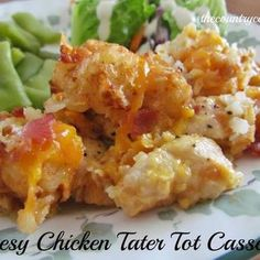 CHEESEY CHICKEN TATER TOTS