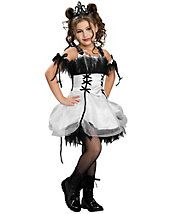 Kids Gothic Ballerina Costume for Girls - clearance - girls-costumes