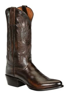 Lucchese Handcrafted 1883 Western Lone Star Calf Cowboy Boots - Round Toe available at #Sheplers