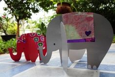How to make a paper elephant (8)