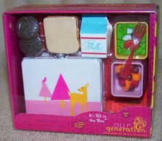 Our Generation IT'S ALL IN THE BOX Accessory Set New