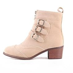 Tripple Buckle Boots