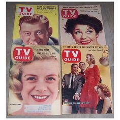 Four 1950's & 1960's TV Guides, Arthur Godfrey, Martha Raye, Rosemary Clooney, price $30. from timemachinecollectibles on Ruby Lane