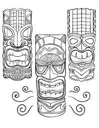 Image result for tiki drawing