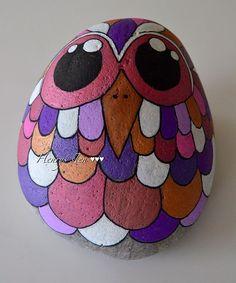 #birds #birdsinlove #malpåsten #loveit #hobby #handmade #håndlavet #stone #stoned #stoneart #sten #posca