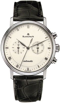 Blancpain Villeret Chronograph Mens Watch