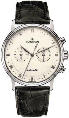 Blancpain Villeret Chronograph Mens Watch