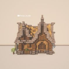 Minecraft Cottage, Cute Minecraft Houses, Minecraft City, Minecraft Room, Minecraft Plans, Minecraft Survival, Minecraft Construction, Amazing Minecraft, Minecraft Blueprints