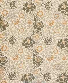 William Morris: Grafton wallpaper (V)
