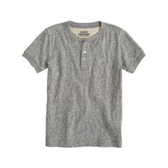 J.Crew - Boys' field knit jasp short-sleeve henley