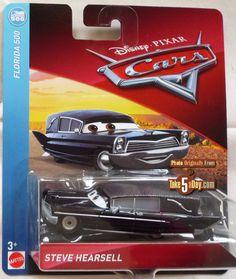 """NEW Scale 1:55 DISNEY PIXAR CARS /""""FRANCA/"""" Die-Cast Metal Mattel"""